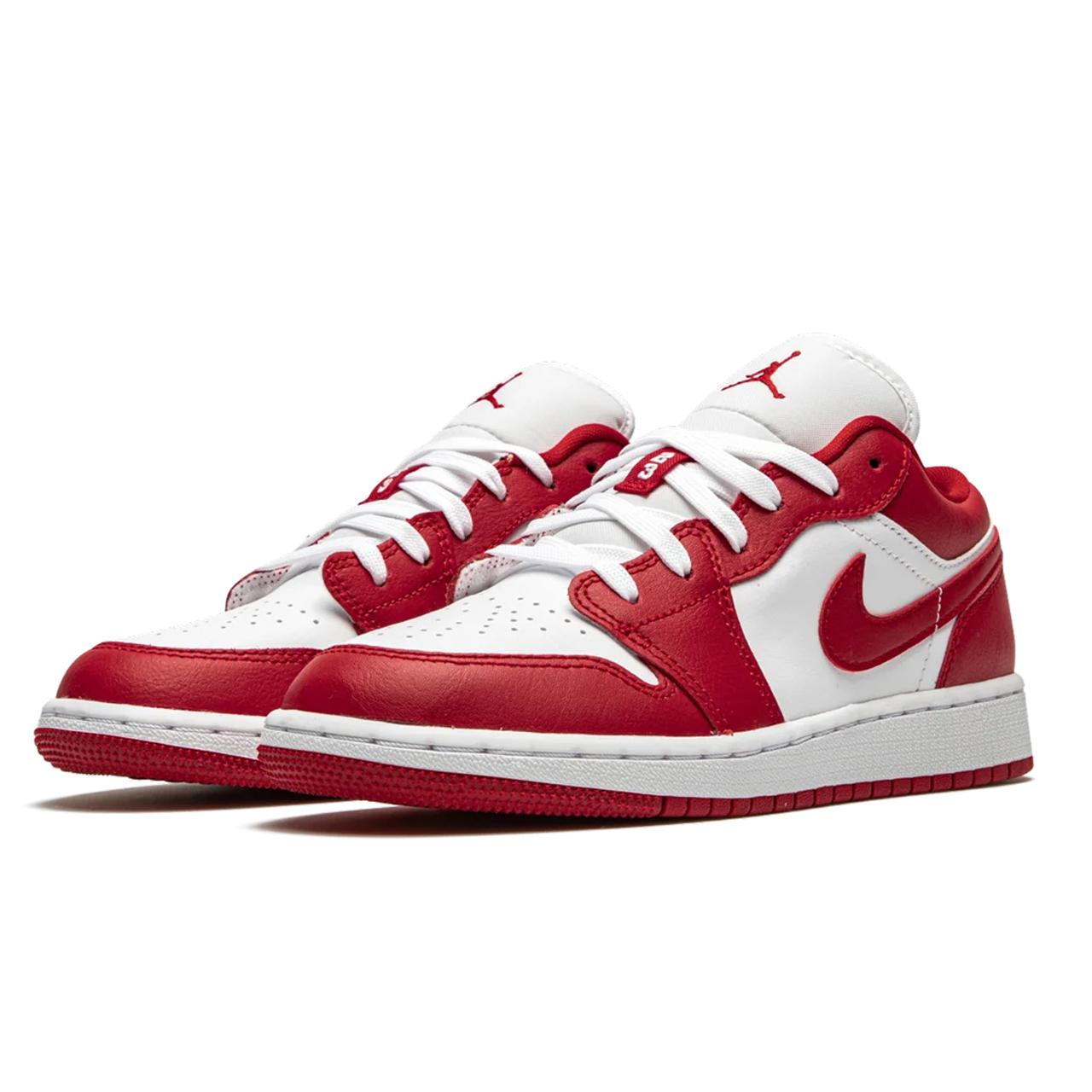 Air Jordan 1 Low Gym Red White   DS Kicks